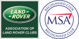 MSA recognised club Association of Land Rover clubs